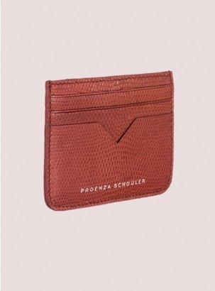 Proenza Schouler Credit Card Case Iguana