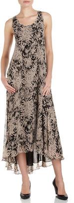 Halston A-line Day Dress