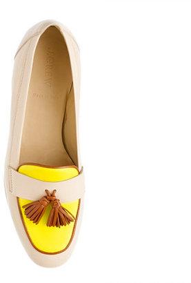 J.Crew Biella tassel loafers