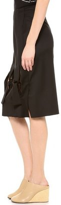 J.W.Anderson Multi Knot Skirt