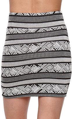 Kirra Short Body Con Skirt