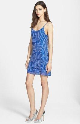 Parker 'Hayden' Embellished Silk Slipdress