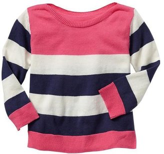 Gap Striped boatneck sweater