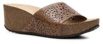 White Mountain Kind Wedge Sandal