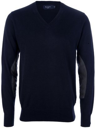 Paul Smith elbow patch sweater
