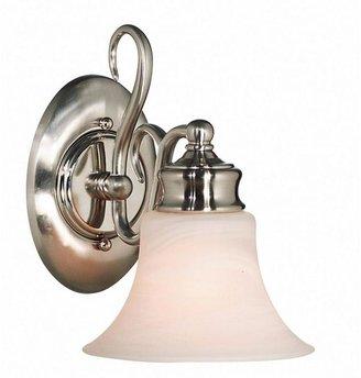 Kenroy Home Wynwood 1-Light Brushed Steel Sconce