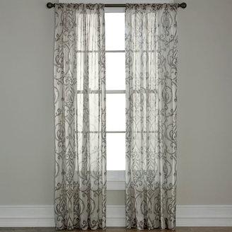 Royal Velvet Alona Rod-Pocket Sheer Panel