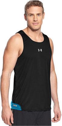 Under Armour HeatGear T-Shirt, Flyweight Run Singlet