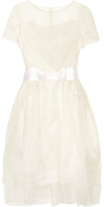 Lanvin - Layered Silk-organza Dress - Off-white $4,862 thestylecure.com