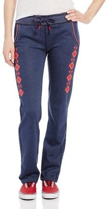 Miss Me Aztec Embroidered Knit Pants
