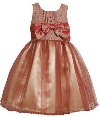 Bonnie Jean Girls 7-16 Multi Tweed Bodice To Tulle Skirt