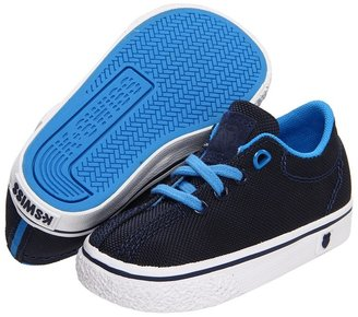 K-Swiss Clean Laguna T VNZ (Infant/Toddler) (Navy/Brilliant Blue Textile) - Footwear