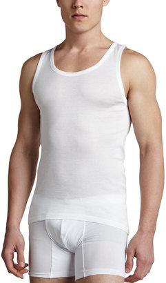 Hanro Cotton Pure Tank Top, White
