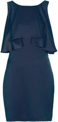 Topshop Frill back dress