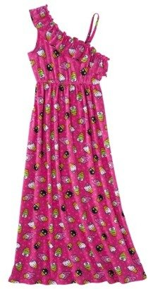 Hello Kitty Girls' Maxi Dress - Pink Bloom