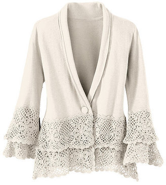 Newport News One-button Cardigan
