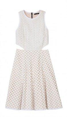 Tibi Sonoran Eyelet Dress