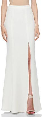 Rachel Zoe Alia Flared Maxi Skirt in Snow