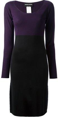 Sonia Rykiel bi-colour dress