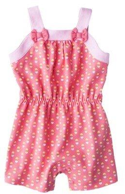 Circo Infant Girls' Romper - Strawberry Pink