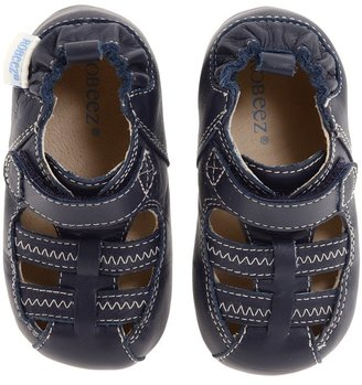 Robeez Sandal Mini Shoez (Infant/Toddler) (Navy) - Footwear