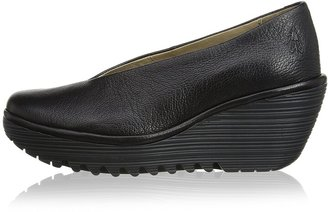 Fly London Yaz Mousse Women's Court Shoes Black 4 UK