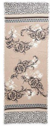 Nordstrom Vintage Floral Cashmere & Silk Scarf
