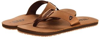 Reef Leather Smoothy (Bronze/Brown) Men's Sandals