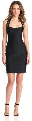Cynthia Rowley Women's Bonded Fitted Dress