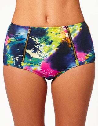 River Island Paint Splashed Bikini Briefs