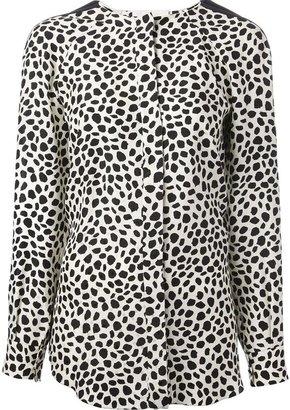 Chloé animal print blouse
