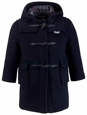 Gloverall School Duffle Coat, Navy
