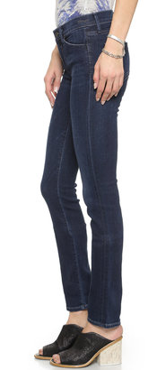 Gold Sign Misfit Straight Leg Jeans