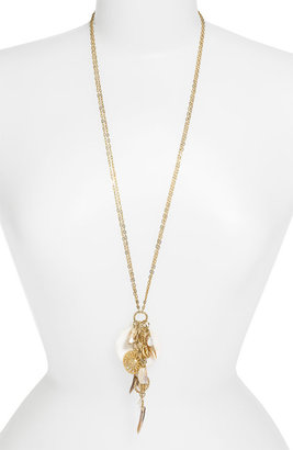 Nordstrom 'Boho Charms' Sun Disc Pendant Necklace