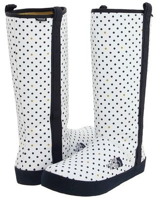 The North Face Base Camp Boot (TNF White (Polka Dot)/Deep Water Blue) - Footwear