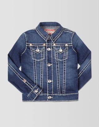 True Religion Emily Natural Super T Girls Denim Jacket