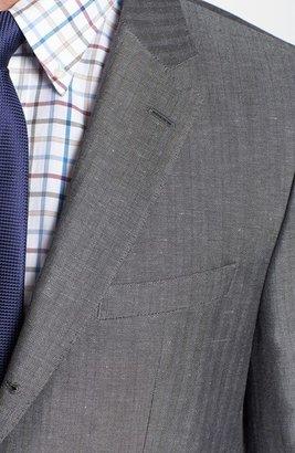 HUGO BOSS 'Johnston' Trim Fit Herringbone Sport Coat