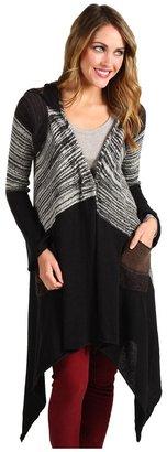 Brigitte Bailey Becky Sweater (Black) - Apparel