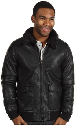 Obey Downtown Bomber Jacket (Black) - Apparel