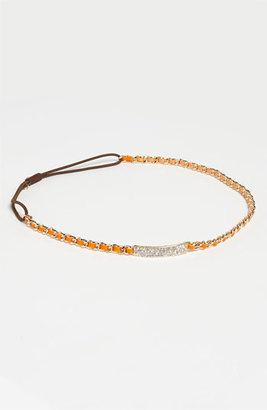 Tasha 'Fancy Lady' Head Wrap Orange/ Gold