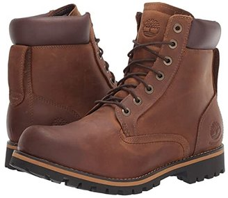 Timberland Earthkeepers(r) Rugged 6 Boot (Medium Brown Full Grain) Men's Lace-up Boots
