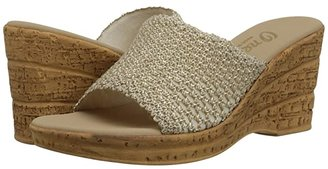 Onex Bianca-2 (Natural) Women's Wedge Shoes