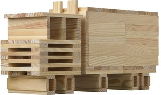 Green Baby CitiBlocs All Natural Color Building Set (200 pcs)