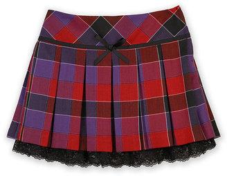 Amy Byer Girls Skirt, Girls Plaid Pleated Skirt