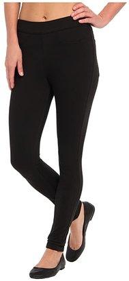 Hue Curvy Fit Jeans Leggings (Black) Women's Clothing