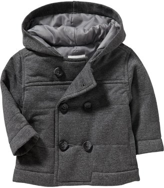 Old Navy Hooded Double-Breasted Peacoats for Baby