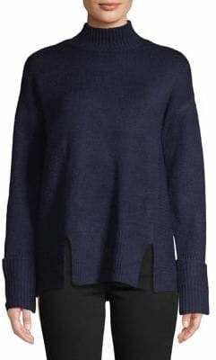 SFW Long-Sleeve Mock Neck Sweater