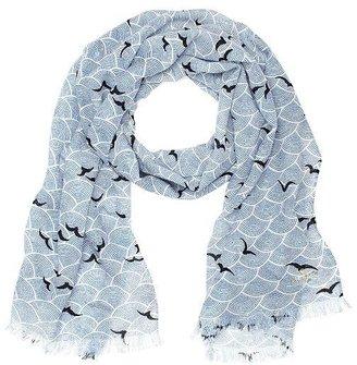 Kate Spade Birds over arches scarf