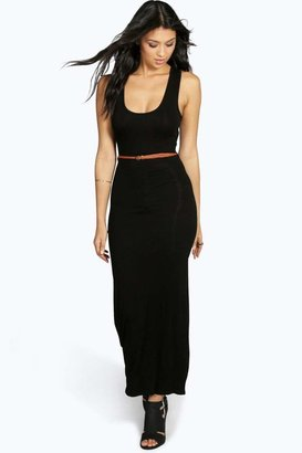 boohoo Laura Racer Back Maxi Dress