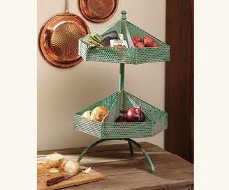 Napa Style Verdigris Rotating Shelves